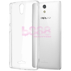 Beauty Oppo Mirror 3 / Oppo R3007 Softcase / Softshell Oppo Mirror 3 / Ultrathin / Ultra Thin / Silicone / Silikon / Casing HP - Putih Transparan