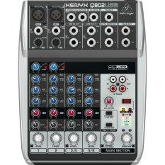 Behringer Mixer Xenyx Q802USB - resmi