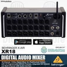 Behringer X Air XR16 [ XR 16 ] 16 Input Digital Mixer Audio for iPad / iphone / Android Tablet with WiFi and USB Recording [ PRODUK ORIGINAL , GARANSI RESMI 1 TAHUN ] || DiGi Audio Store ||