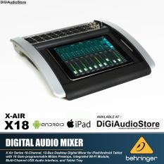 Behringer X18 [ X 18 ] X Air Digital Audio Mixer powered by MIDAS Preamp [ Original, Garansi resmi 1 Tahun ]