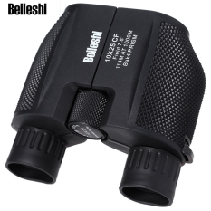 Beileshi 10 X 25 HD 114M - 1000M All-optical Waterproof Binocular Telescope for Tourism (Black)