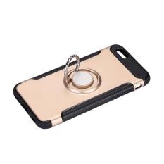 Bellamall: Ponsel Terbaru Teknologi Kapal Gratis Carbon Fiber Wein Kasus Cover Kulit Shell untuk IPhone6 6 S dengan 360 ° Rotating Ring-Intl