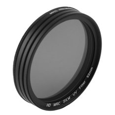 Belle 52MM Professional CPL + ND4 + UV Camera Lens Filter Photography Lens Kit black - intl