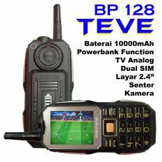 Spesifikasi Bellphone Bp 128 Teve Dual Sim Tv Powerbank Black Bagus
