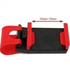 Spesifikasi Belvanian Holder Hp Multifungsi Mobil Motor Car Steering Wheel Phone Holder Yang Bagus