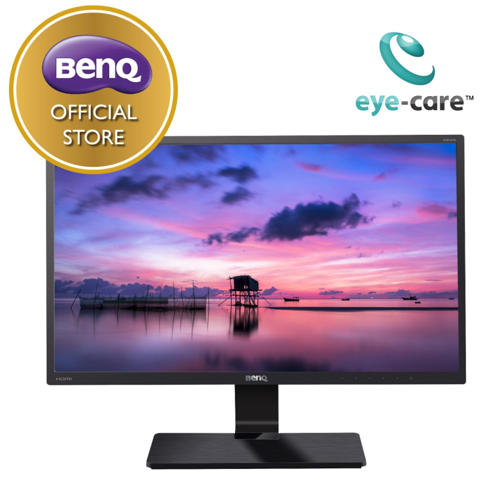 Harga Benq Gw2470H 24 Inch Full Hd Hdmi Va Led Eye Care Monitor Fullset Murah