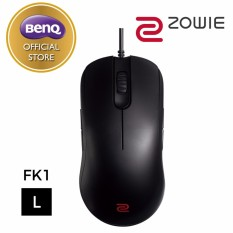 Model Benq Zowie Fk1 Black Esports Gaming Mouse Large Terbaru