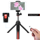 Jual Beli Benro Mk10 Handheld Extendable Mini Tripod Selfie Stick With Bluetooth Remote Control Shutter For Ios Iphone 5S 6S 6S Plus Android Smartphone Cellphone For Gopro Intl