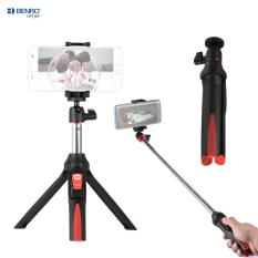 Jual Beli Benro Mk10 Handheld Extendable Mini Tripod Selfie Stick With Bluetooth Remote Control Shutter For Ios Iphone 5S 6S 6S Plus Android Smartphone Cellphone For Gopro Outdoorfree Intl Di Tiongkok