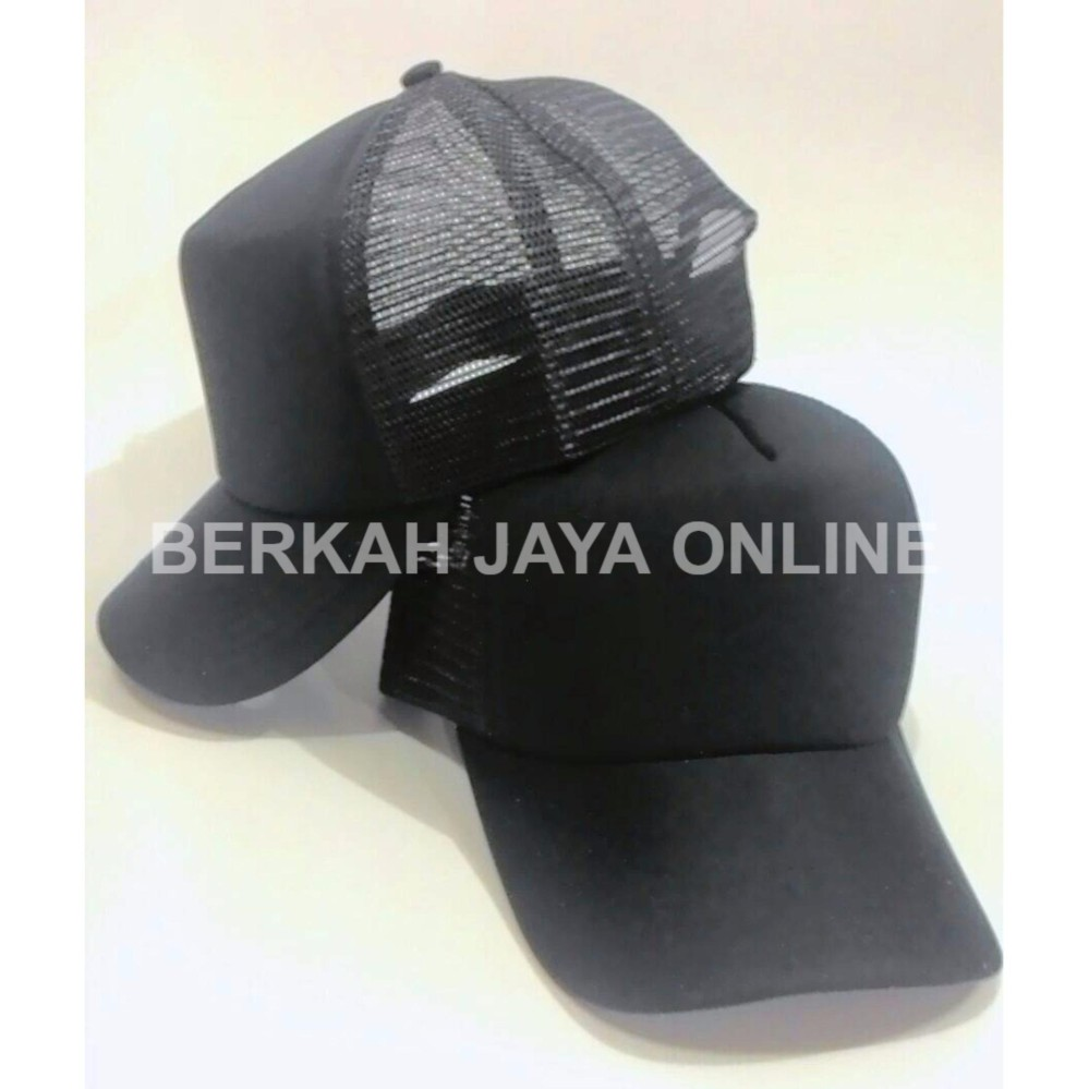 Buy Sell Cheapest Azzalea Jaya Topi Best Quality Product Deals Kaos Polos Berkah Trucker Jaring Mesh Cap Rapper Snapback Hat
