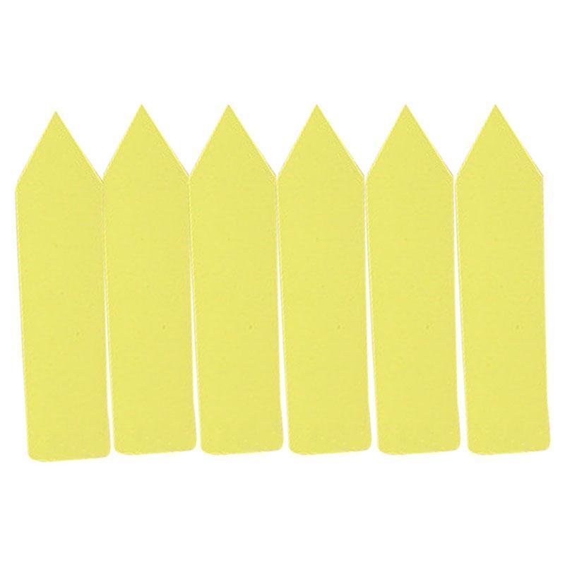 Berkebun Kartu Label Bunga Buah Peralatan Memasak Di Luar Rumah Yang Lain: Bibit Sayuran Tahan Air Label PP Plastik Label Ukuran 10x2 Cm-Internasional