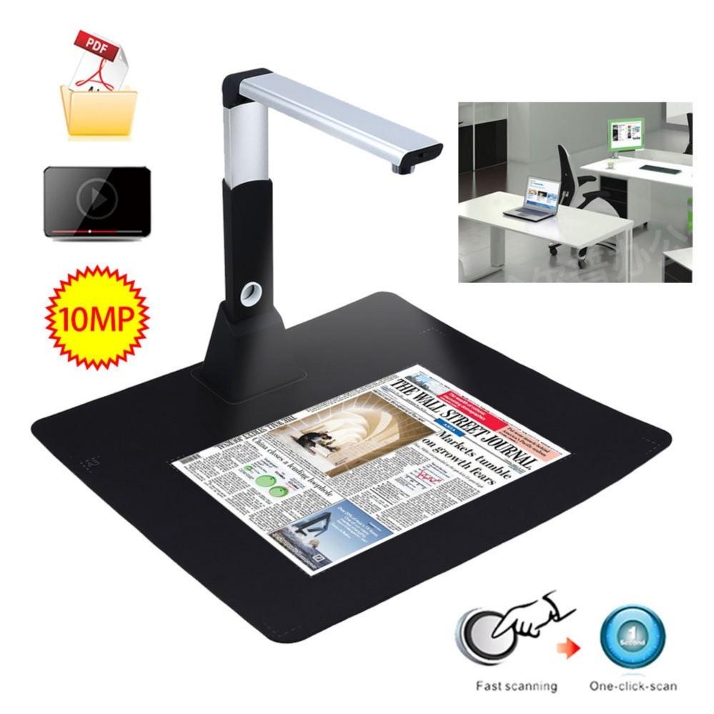 Berkecepatan Tinggi A3 A4 A5 Dokumen Photo Book ID Kartu Cam Scanner Visualizer Compact-Intl