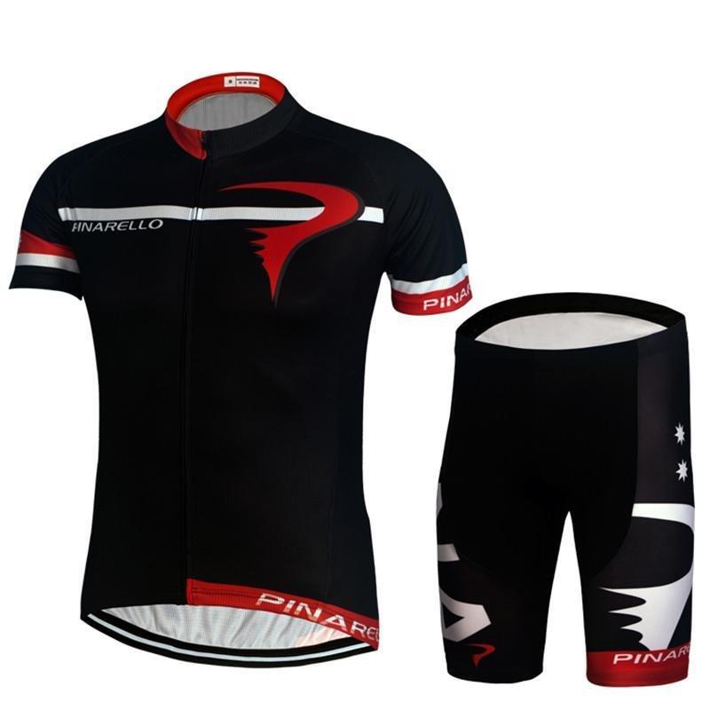 Bersepeda Jersey Dengan Celana Pendek Set-Intl By Tristaxu.