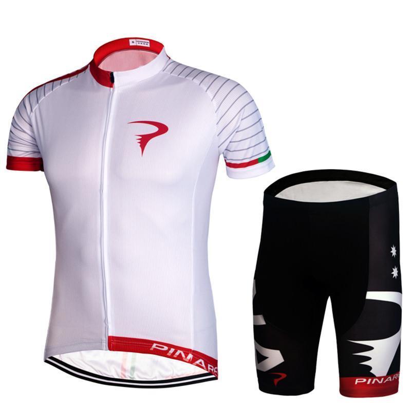 Bersepeda Sepeda Sepeda Kolam Jersey + Celana Pendek Lengan Bernapas Riding Pakaian Celana Pendek-Intl