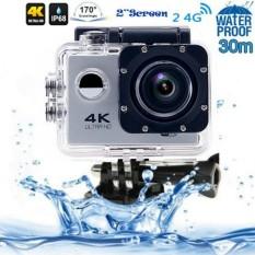 Best Action Camera 4K+ UltraHD - 16MP - Silver - Non WIFI