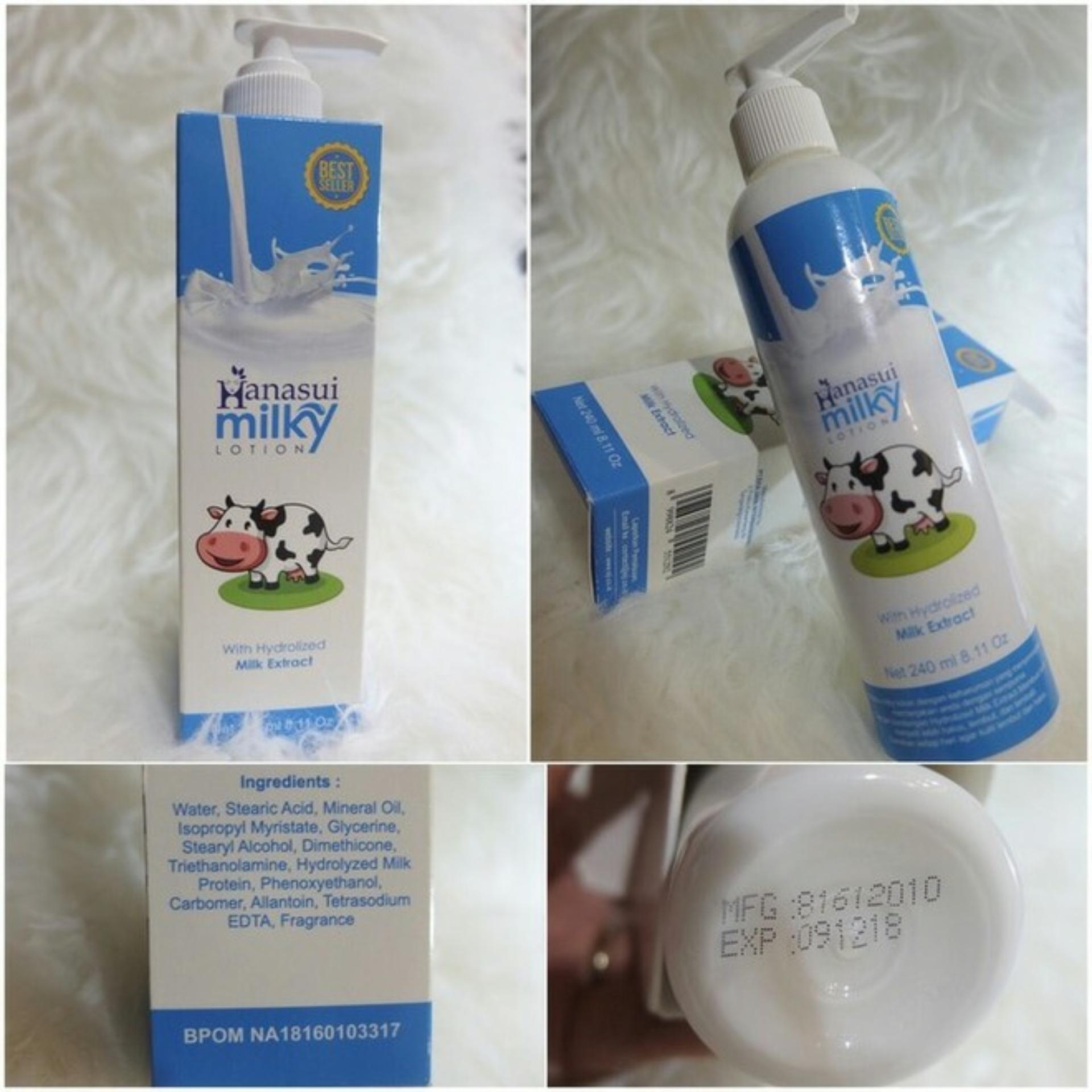 Buy Sell Cheapest Hanasui Body Lotion Best Quality Product Deals Bpom Care 3in1 Paket Original Na18160103317 Milky