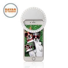 Toko Best Choice Selfie Ring Flash Light Lampu Selfie Bulat Putih Lengkap