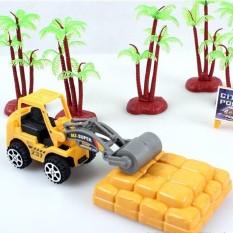 Terbaik Seller ASTAR Bayi Mini Konstruksi Model Mobil Kendaraan Mainan Truk Excavator Hoist Mixer-Internasional