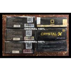 Best Seller CRYSTAL X-CRISTAL-X-KRISTAL X-CX-ORI 100%NO SERI BERBEDA 1 DGN YG LAIN Bagus