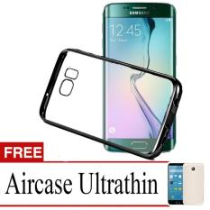 Best Seller Softcase Ultrathin List Chrome For Samsung Galaxy S7 Edge + Free Ultra thin –