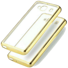 Best Seller Softcase Ultrathin List Chrome For Xiaomi Redmi 2s - Gold