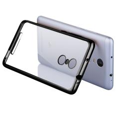 Toko Best Seller Softcase Ultrathin List Chrome For Xiaomi Redmi Note 3 Black Terlengkap