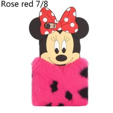 BEST SELLER Sunweb New TPU Plush Small Mickey Mouse Body Skin Mobile Phone Shell Apple Protector for iPhone 6/6S 7/8 X