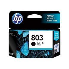 Best Seller Tinta HP Original 803-F6V21AA Black Ink Cartridge