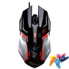 TERBAIK USB Wired Gaming Mouse Adjustable-Intl