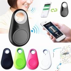 Terbaik Wireless Smart Tag Tracker Dompet Kunci Keychain PET Anak Finder GPS Locator Anti Lost Alarm System untuk Android IOS Smart Phone-Intl