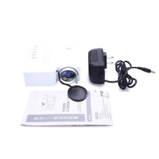 Bestprice UC28B Mini Portable Home Theater LED Projector Support TF Card US Plug - intl