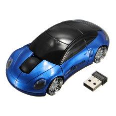 Diskon Bestrunner 2 4 Ghz Nirkabel Mobil Mouse Optik Usb Mouse Tanpa Kawat Listrik For Pc Laptop Biru And Hitam Indonesia