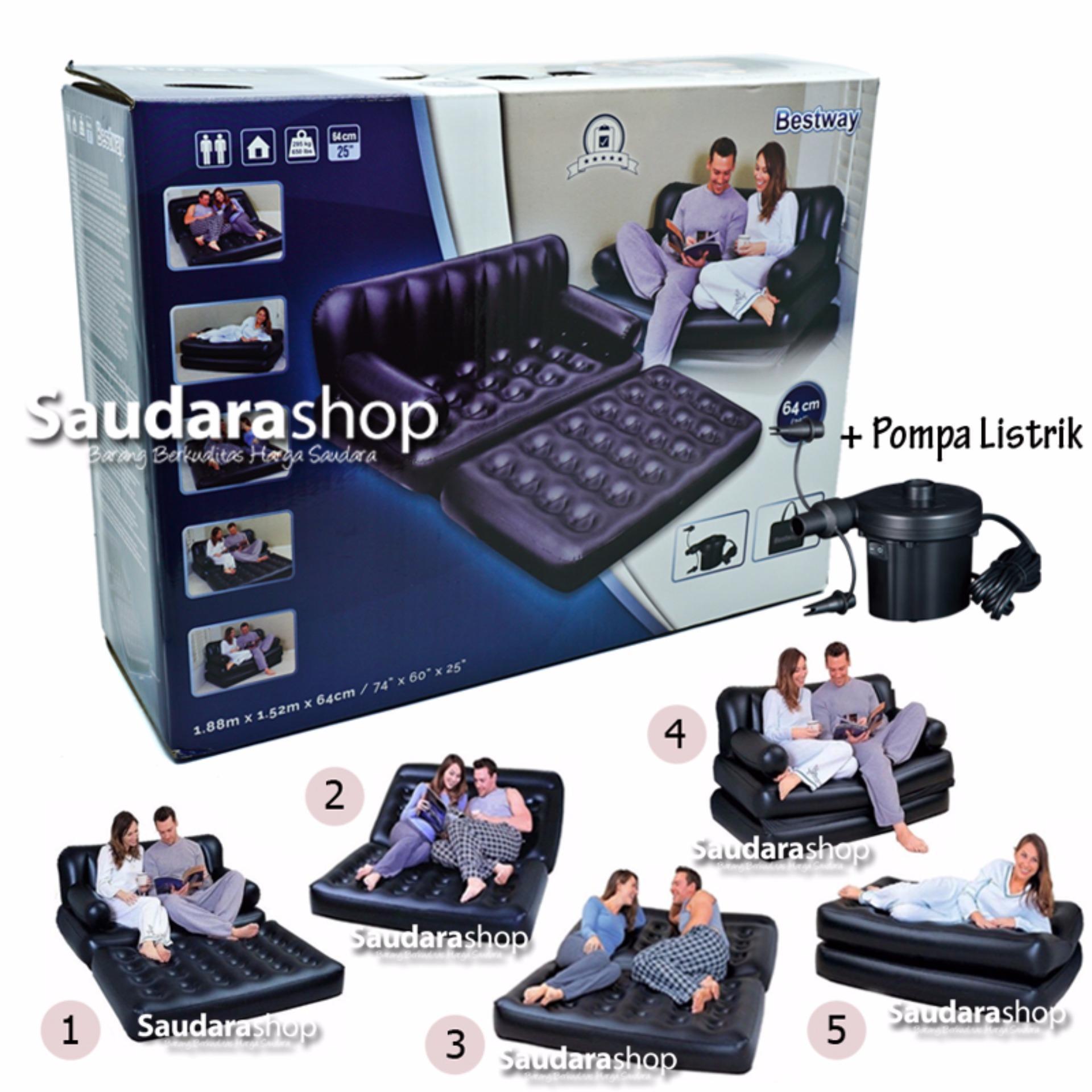 Spesifikasi Bestway 75056 Sofa Bed 5 In 1 Sofa Bed Multifunction 5 In 1 Sofa Bed 5In1 Yg Baik