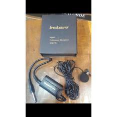 BETAVO MM 701 asli ori original tie Clip on Jepit condesor mic mik mikrofon microphone kancing kabel cable