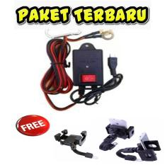 BETTER BT 167 saver alat pengisi baterai Charger Hp Aki free holder motor