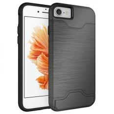 Diskon Besar untuk iPhone 6/6 S 7 Plus Anti Guncangan Kasar Hibrida Karet Pelindung