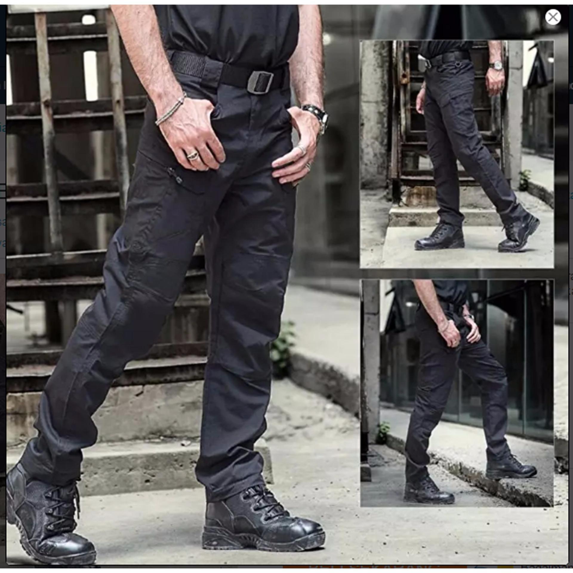 Spesifikasi Big Size Blackhawk Celana Tactical Panjang Black Dan Harganya