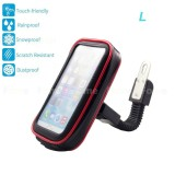Bike Mount Universal Case Motorcycle Mount Handlebar Holder Bag Waterproof Phone Case Sand Dirt Resistant With Access Hole And Card Slots For Smartphone L Intl Tiongkok Diskon 50