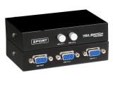 Diskon Besarbillionton Switch Selector Video Vga 2 To 1 Hitam