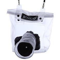 Beli Bingo Dslr Slr Kamera 20 M Di Bawah Laut Menyelam Wadah Tahan Air Tas 14 Cm Lensa Putih Dengan Kartu Kredit