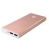 Harga Bintang Power Bank Fashionable Metallic Double Usb Quick Charging 2A Real High Capacity 18000 Mah For Travel Gold Di Jawa Barat