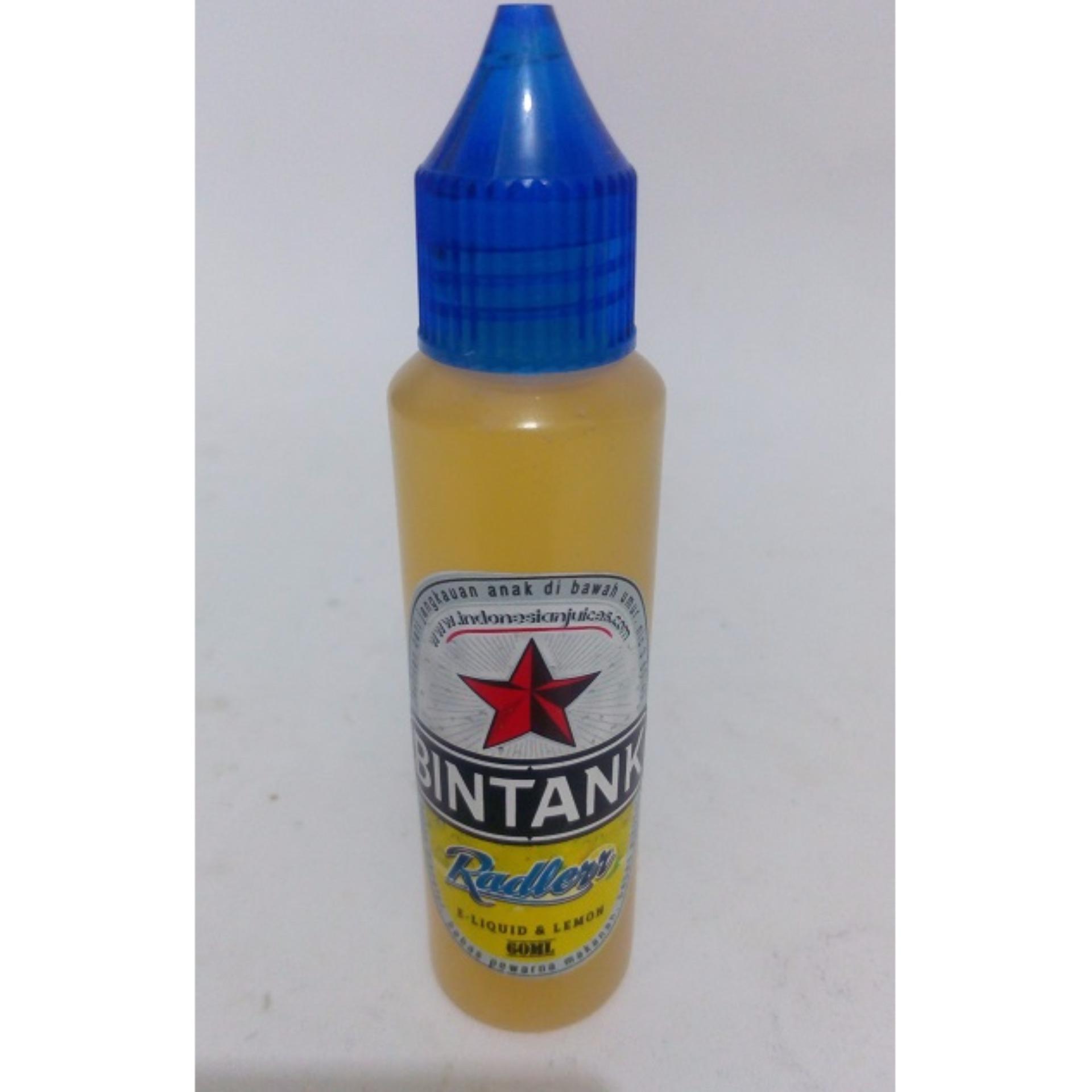Toko Bintang Radlerr Premium Liquid 60Ml Vape Vapor Lemon Online Terpercaya
