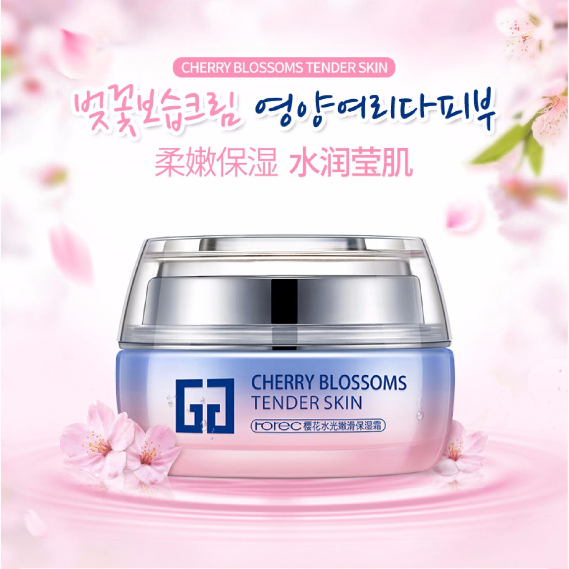 Harga Bioaqua Cherry Blossoms Moist F*c**l Cream Day Night Lotion Wajah 50Gr Yang Murah