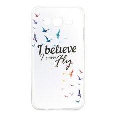 Burung TPU Lembut Kantong Gas Belakang Case Cover untuk Samsung Galaxy J5 J5008 Case-Intl