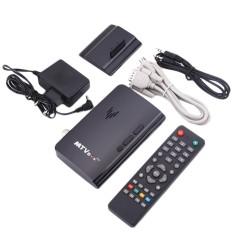 Bkodak Store Mini LCD LED CRT TV Box VGA AV TV DVD Program Digital Tuner Receiver Monitor-Intl
