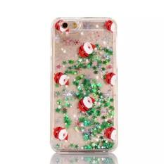 Bkodak Toko Natal Gaya Baru TPU Phone Case Cover Pelindung Kulit untuk IPhone6 Plus/6 S Plus Anti- Drop-Intl