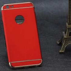 Bkodak Store Baru Gaya Plated 3 Dalam 1 Mobile Hard Matte Penutup Case Ponsel Shell untuk Iphone6/6 S Plus-Intl