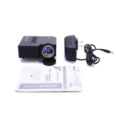 bkodak store UC28B Mini Portable Home Theater LED Projector Support TF Card US Plug - intl