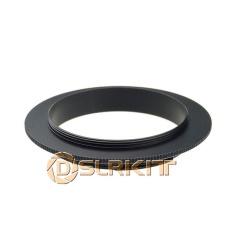 Beli Hitam Aluminium 49Mm Macro Reverse Adapter Ring Untuk Canon Ef Gunung Internasional Dslrkit Asli