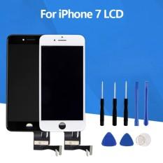 Hitam & Putih Grade AAA Kualitas Penggantian LCD Display untuk Apple IPhone 7 LCD Layar Sentuh Digitizer Assembly-Intl